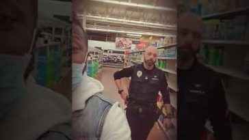 Police kick two Black men out of Walmart because they're wearing face masks