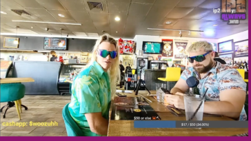 Racist live streamer Baked Alaska kicked from a restaurant for playing racist donation.
