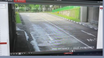 Bus driver narrowly avoids a nasty fate