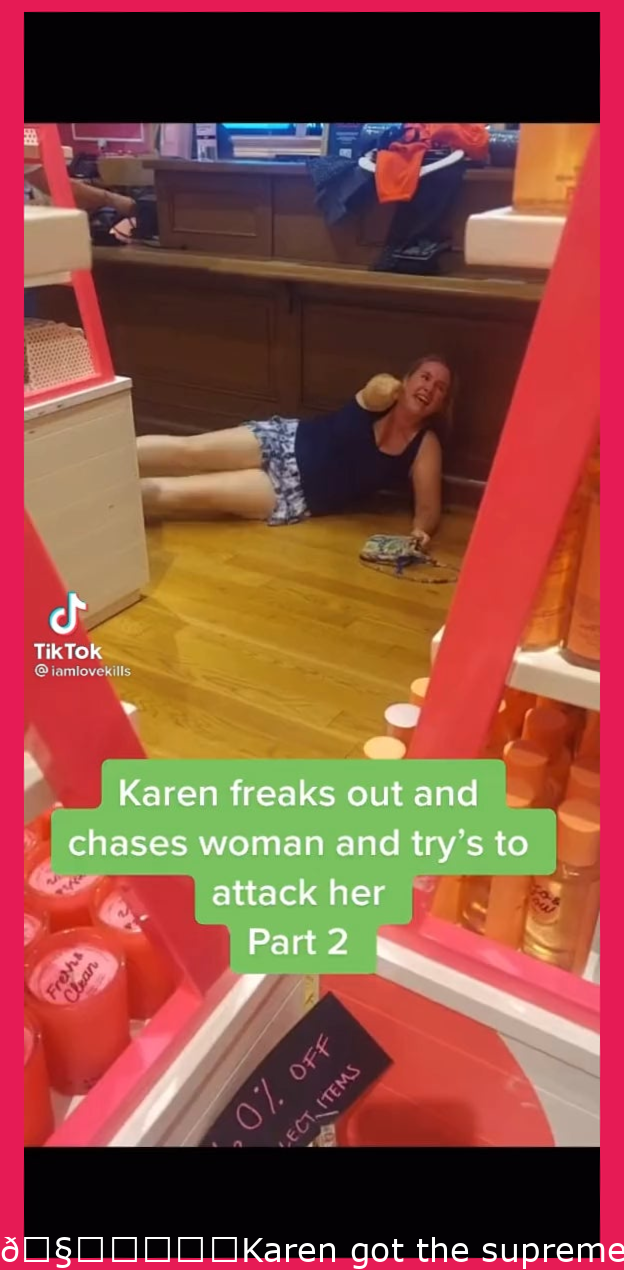 🧚♀️✨Karen got the ultimate weapon put on her….. the camera!!! ✨🧚