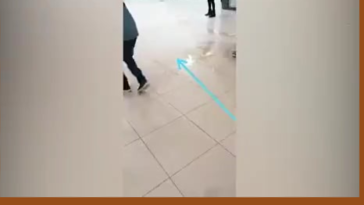 SA Store Employees Pouring Vegetable Oil to Stop Looters