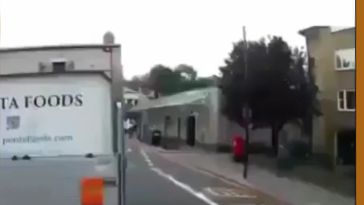 Bicyclist Miraculously Avoids Total Annihilation...