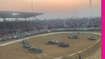 Demolition derby judge must be living right. More info in comments.