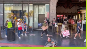 Anti-Vaxxer Do you see all these homeless people? Do you see them dead with Covid? Why? Homeless Man: Because I'm vaccinated you dumb f***!