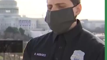 """Capitol Police Officer: """"it was absolutely my pleasure to crush a White Nationalist insurrection"""""""